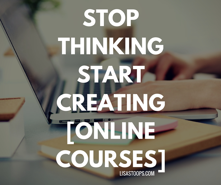 STOP THINKINGSTART DOING[ONLINE COURSES]