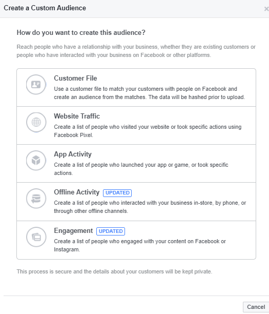 44+ Facebook Ad Targeting Options